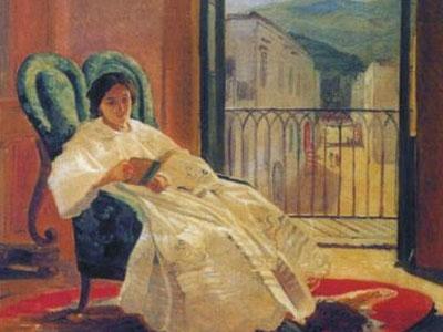 Портрет жены художника Анны Петровны