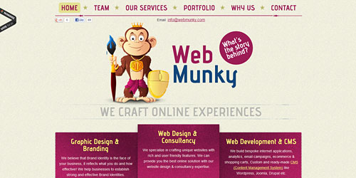 Перейти на Web Munky