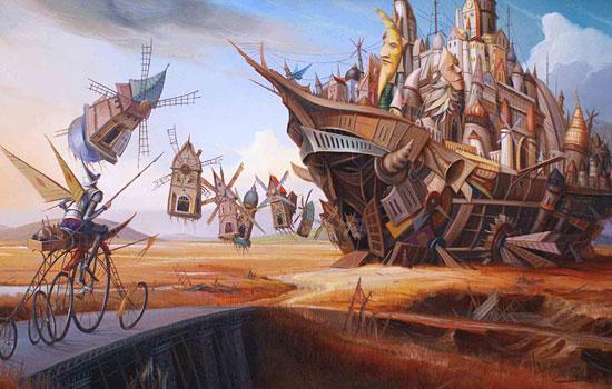 Фантасмагоричные образы из фабрики снов художника Tomek Setowski