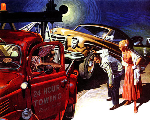 Seiberling Tires, 1953
