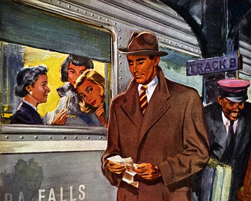 How to buy a coat, 1948
