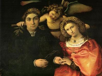 Signor Marsilio Cassotti And His Wife Faustina 1523