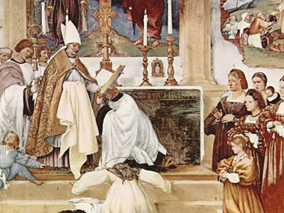 The Story Of St Barbara And St Alvise 1524