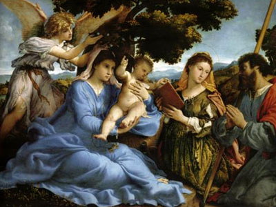 Madonna And St Catherine Of Alexandria St James