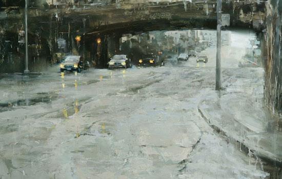 Городские пейзажи за дождливыми стеклами от Hsin-Yao Tseng
