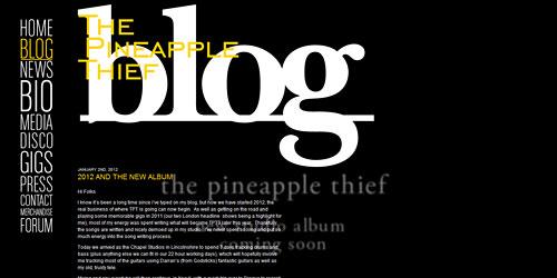 Перейти на Pineapple Thief