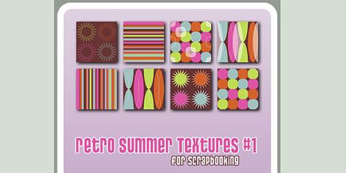 Скачать Retro Summer Set 1 Textures
