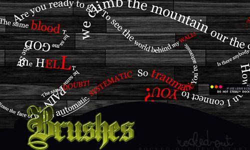 Скачать PS Brush-9 TH Lyrics