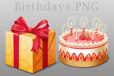 Скачать Birthday MAC icons