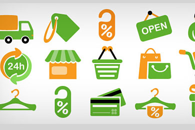 Скачать Shopping icons