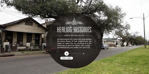 Перейти на Healing Histories