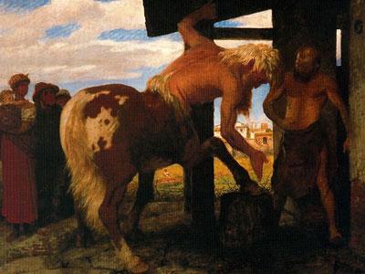 Centaur at the Village Blacksmith's Shop