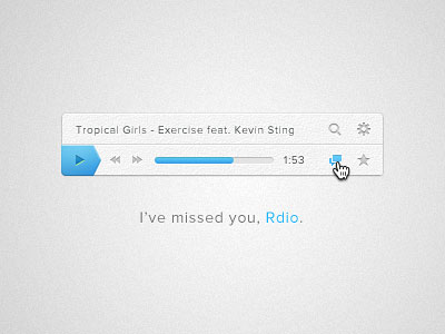 Перейти на I Ve Missed You Rdio Rebounded