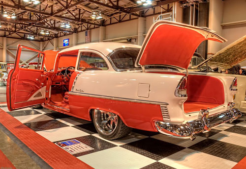 Перейти на 55 Chevy Belair Coupe