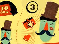 20 интересных сайтов, использующих рисованные элементы в дизайне