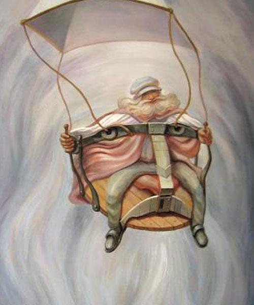 Скрытые образы и действующие лица на картинах Олега Щупляка