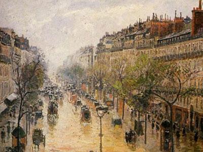 Boulevard Montmartre Spring Rain
