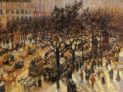 Boulevard Des Italiens Afternoon 1897