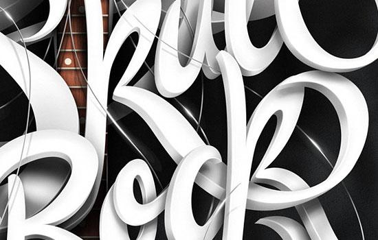 Типографические изыски от талантливого дизайнера Marcelo Schultz