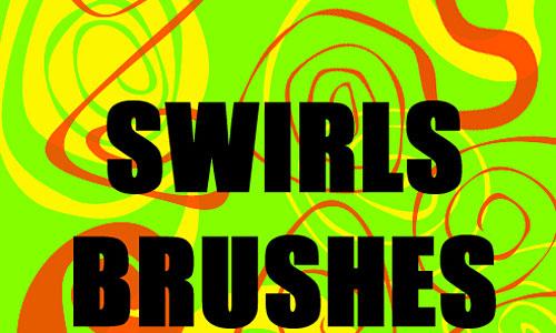Скачать 19 Twirls Swirls Ps Brushes