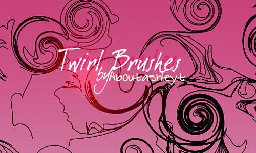Скачать 7 Twirl Brushes