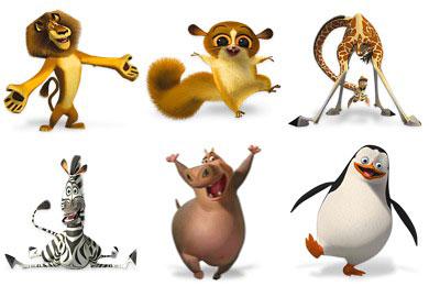 Скачать Madagascar Icons