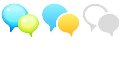 Скачать Support Bubble Icons