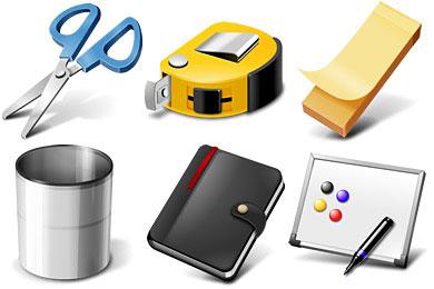 Скачать Office Supplies Icons