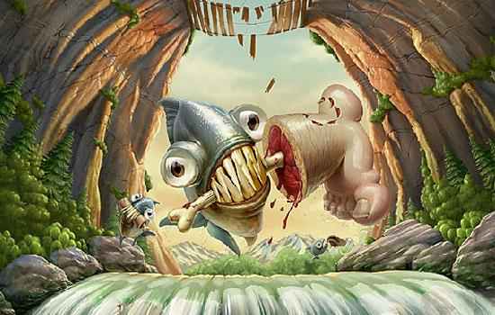 Забавные персонажи и герои от чилийского иллюстратора Oscar Ramos
