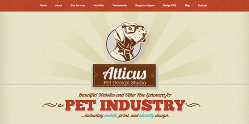 Перейти на Atticus Pet Design