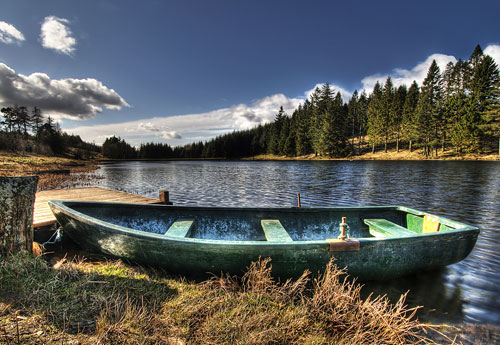 Перейти на Evening On The Loch