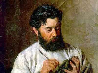 Портрет скульптора Л. В. Позена