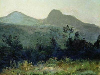 Гора Седло в окрестностях Кисловодска