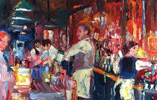 Цветные пятнистые сюжеты от художника Richard Wallich