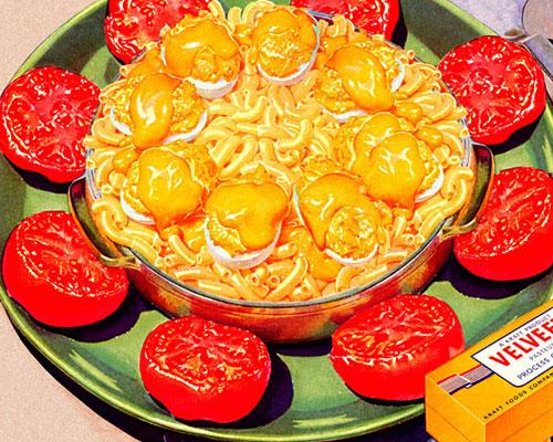 Velveeta Golden Glory casserole