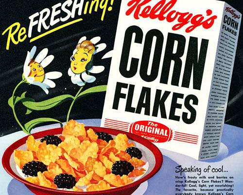 Kellogg's Corn Flakes, 1949