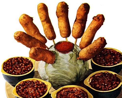 Broncos: Crispy, french-fried wieners