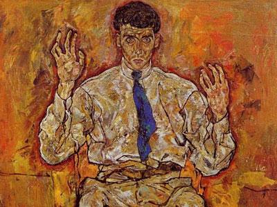 Portrait Of Albert Paris Von Gutersloh