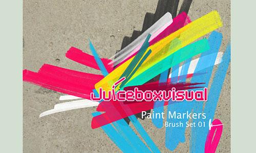 Скачать Paint Markers Brush Set
