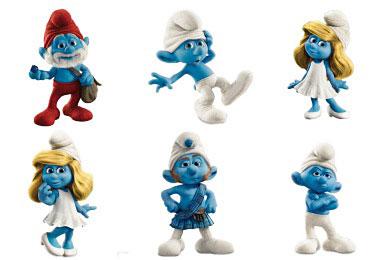 Скачать Smurfs Icons