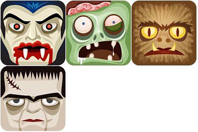 Скачать Classic Monsters Icons
