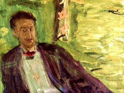 Man In Meadow Alban Berg
