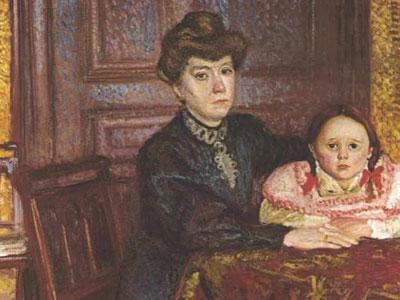 Double Portrait Of Matilda And Gertrude Schonberg