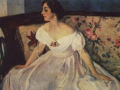 Портрет В.М. Нестеровой