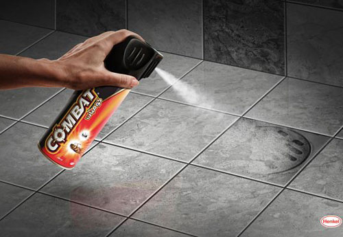 Перейти на Henkel Combat: Spray
