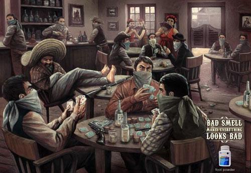 Перейти на Daktarin Powder: Saloon