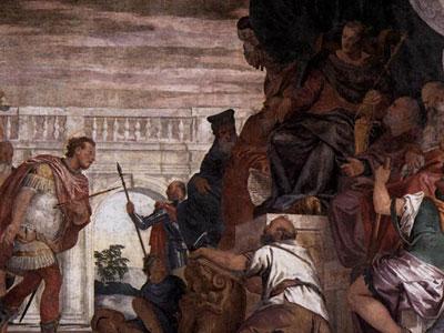 St Sebastian Reproving Diocletian