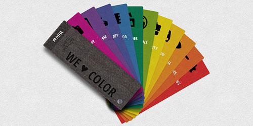 Перейти на Раскрывающееся меню в виде палитры цветов