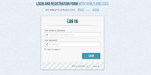 Перейти на Форма регистрации и входа