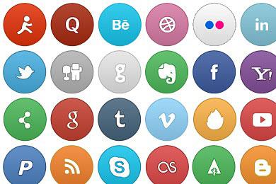 Скачать So Smooth Social Icons